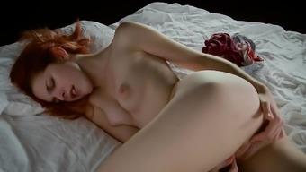 Girl masturbating - AmarnaMiller -