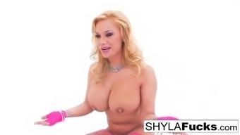 Shyla's last hardcore gonzo fuck
