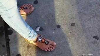 Sincere indian date both feet need pedi three (3)