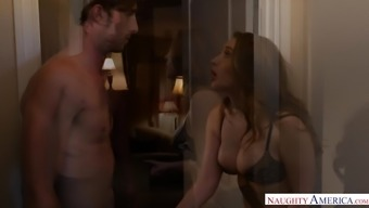 Large titties homewrecker fucks friend's hubs - Kinky America
