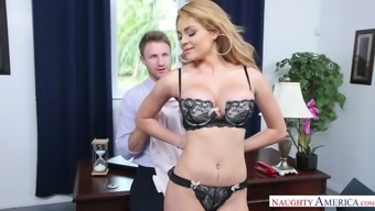 Person-in-charge can't stop fucking possibly the most beautiful counter Skyla Novea