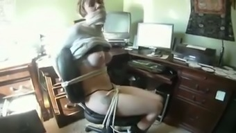 Slutty natural counter had nothing against a little bit of bondage fitness