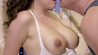 The the act of oral sex Danica Dillon gives may be out of environment
