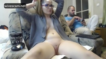 Concealed cam demonstrates partner masturbating astonishing