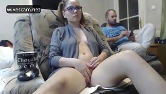 Concealed cam demonstrates partner masturbating astonishing