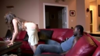 Curvaceous and wilderness blonde homemaker wants to fuck black man