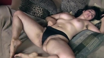 Hairy Girl Requires Her Pants Off