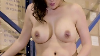 Great breasted owner and developer of hirsuite cunt Danica Dillon rides solid penis at the top