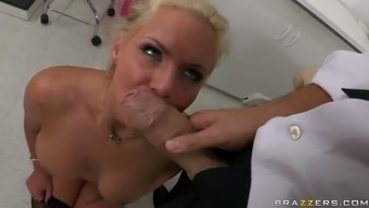 phoenix marie getting her nose fucked using a vast thick shlong