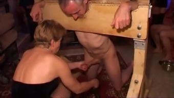 Senior sexual intercourse machine will work anything for their wild mistress