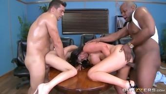 alex ash fucks nikki's husband as nikki benz gets fucked by alex's partner