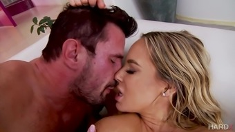 Olivia Austin can be an oiled over tramp ready for a hunk's boner