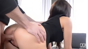 wonderful french housemaid cecilia francis fucks hard versus proper cleaning the home