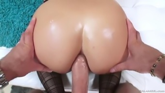 warm kenzie red gets her perfect ass toyed and fucked
