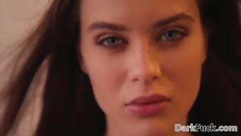 Human hormones immersed anal along with Mandingo and Lana Rhoades