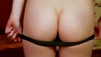 aria alexander rubs her receding pussy