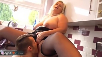 Agedlove Mature Plump Blowjob and Doggystyle