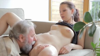 Youngster gets fucked by an old one while you are her man wrist watches