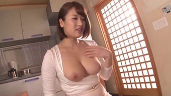 Great bosoms From asia damsel in tense dresses gets laid