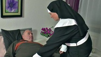 German Nanna Nun get Fucked along with not papa in SexTape