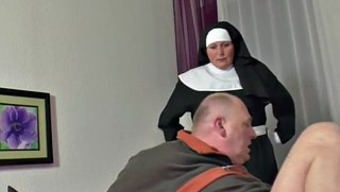 German Nanna Nun get Fucked along with not papa in SexTape