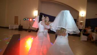 the bride's beautiful interact