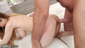 Stella Cox gets her enthralling tits and tense asshole fucked