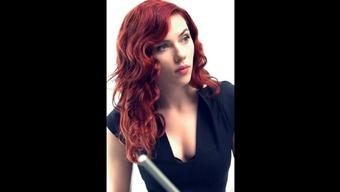 Scarlett Johansson named Black Widow
