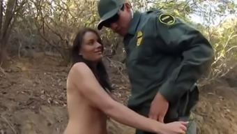 Policemen refrain from border guard first time Kayla