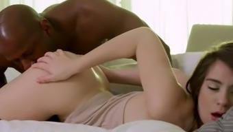 Naturally-occuring Blonde Teen, Joseline Kelly, is an Anal Slave for Major Dark colored Junk