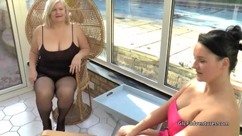 Guys stripper gets lucky with the use of granny and grow older