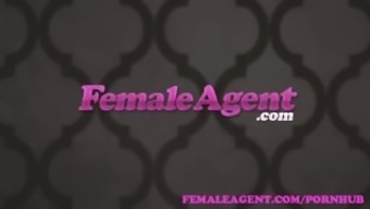 FemaleAgent. Stunning bisexual brown seduces the sexy provider