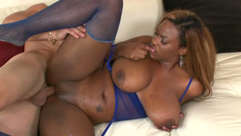 Great bottomed and clearly set ebony op welke manier Tori Taylor amusement rides white colored hunk