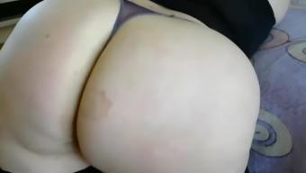 major stupid ass in panties