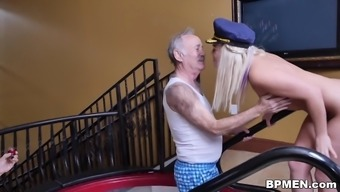 Kenzie Orange Will try Anal passage By using Old Guys