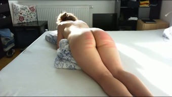 Wild passive large bottomed wife of my partner got her bum spanked