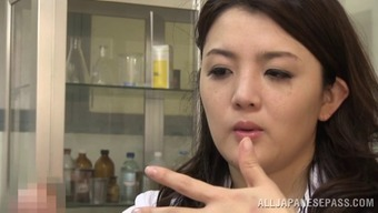 Touching Japanese people medical professional swiftly slips in love with the set up penile organ