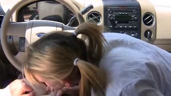 instant blowjob in car