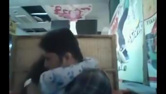 Bangladeshi Boyfriend& GF in restaurant 1- full on hotcamgirls . in