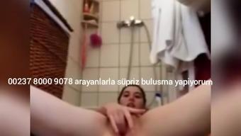 Turkish Young Love Masturbatory stimulation