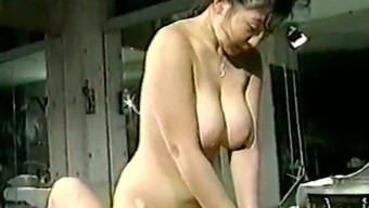 Hunk by using tiny prick pleases curvaceous and busty Japanese people girl