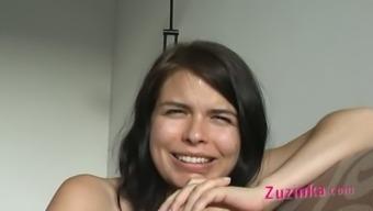 Zuzinka and her companion masturbating