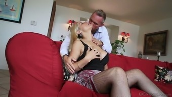 Bootyfull girl Sarah Vandella will have to get a style or her lover's seminal fluid