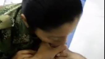Military love suck manhood