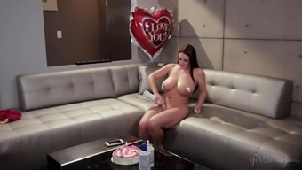 Large pickings lesbian partners - Angela White, Eva Lovia