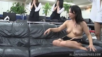 Nasty From asia MILF treasures playing with snatches and also cocks
