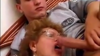 Grandma Fucked By Grandson In Act