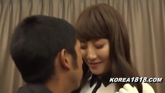 Heated Korean Golf Coach Seduction