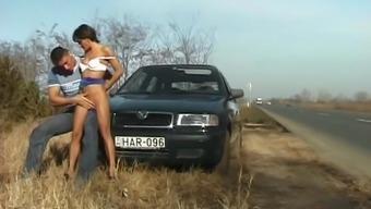 boulevard anal fuck beside auto