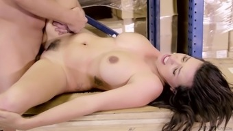 Danica Dillon seduces a providential companion for a superb shagging animals